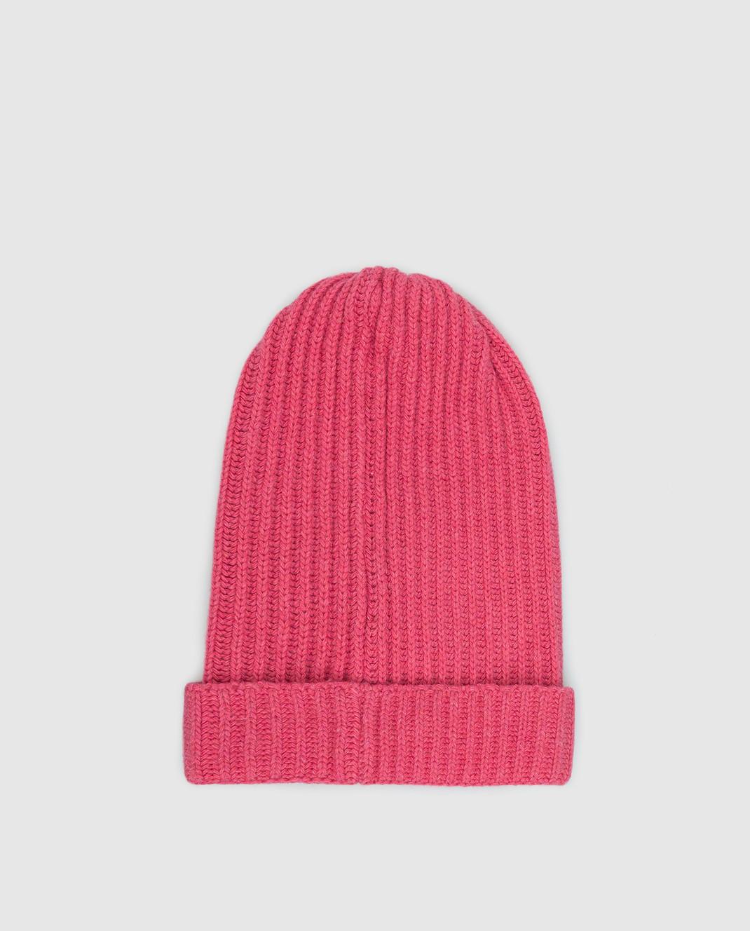 Ermanno Scervino Детская розовая шапка PP01MAG4 изображение 2