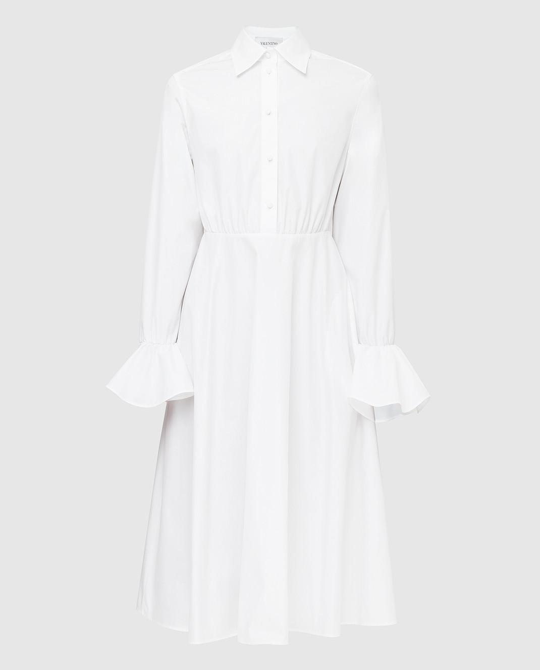 Valentino Белое платье TB3VAR204HP