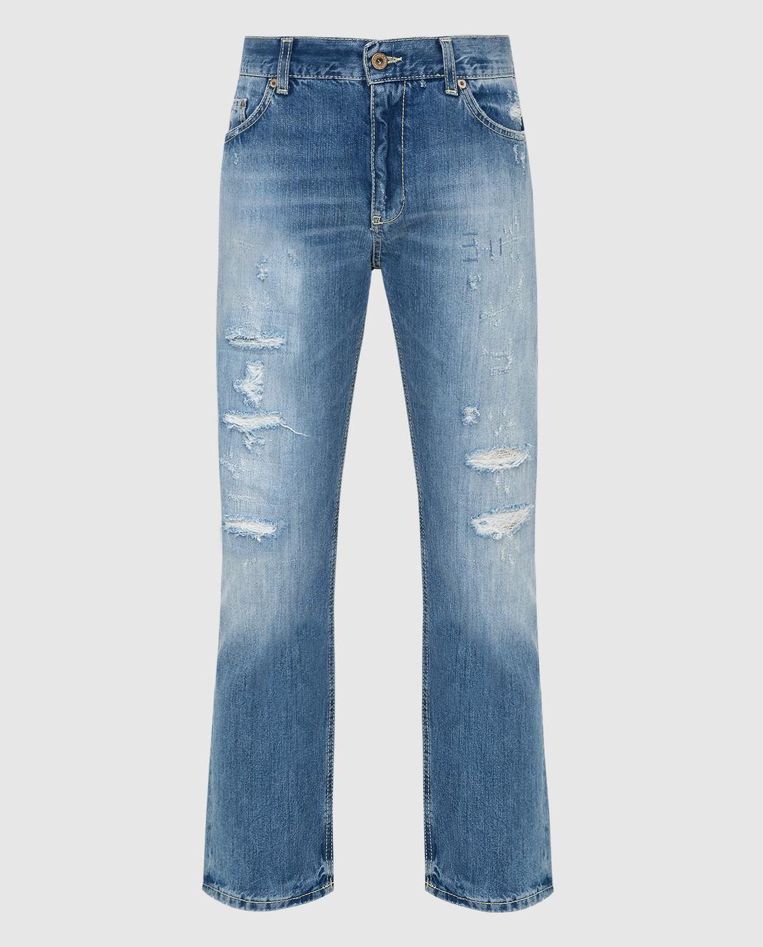 Dondup Голубые джинсы P611