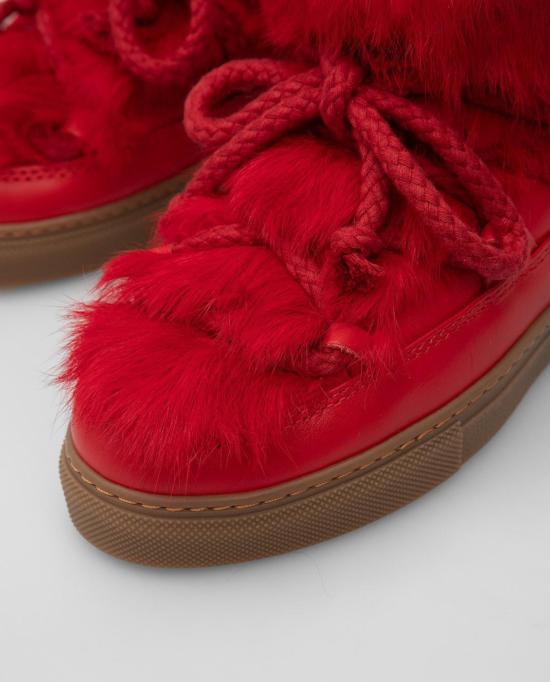 Inuikii Детские красные ботинки 6020242633 изображение 4