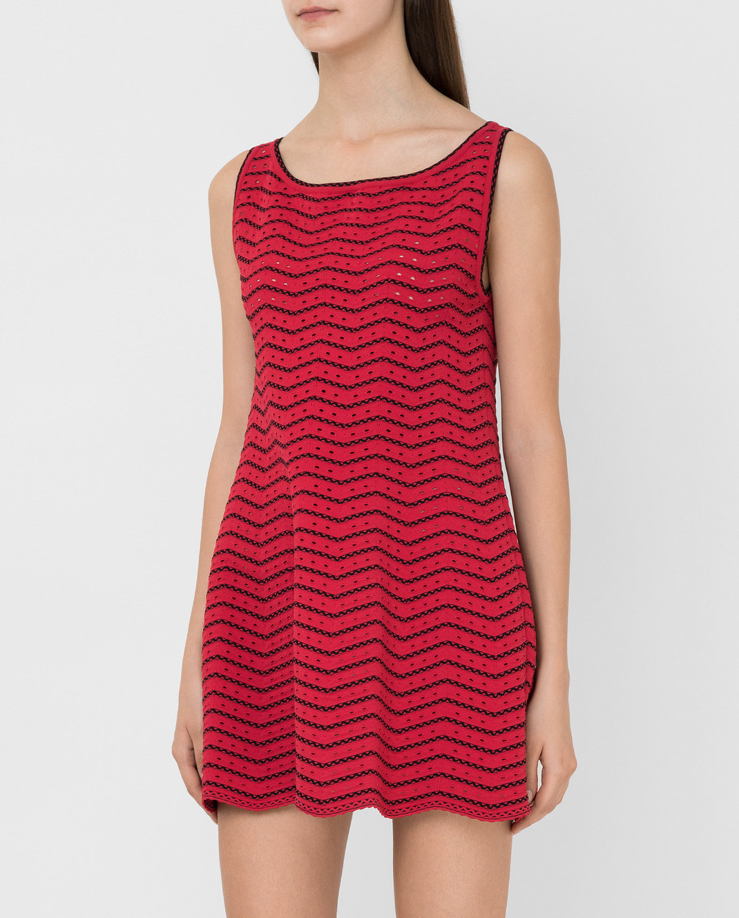 Azzedine Alaia Красное платье 6E9UC86RM224 изображение 3