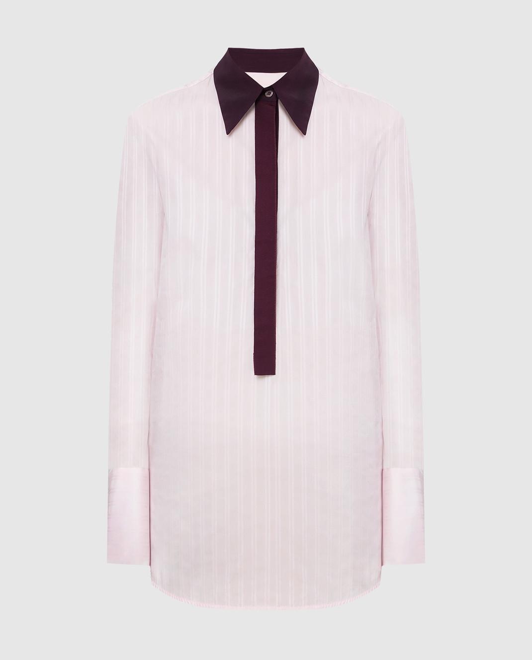 Victoria by Victoria Beckham Розовая рубашка SHVV117