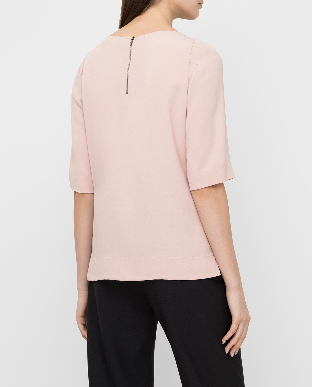 Jenny Packham Пудровая блуза с кристаллами WT104 изображение 4