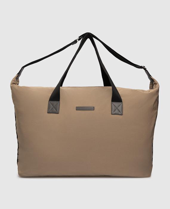 Темно-бежевая сумка