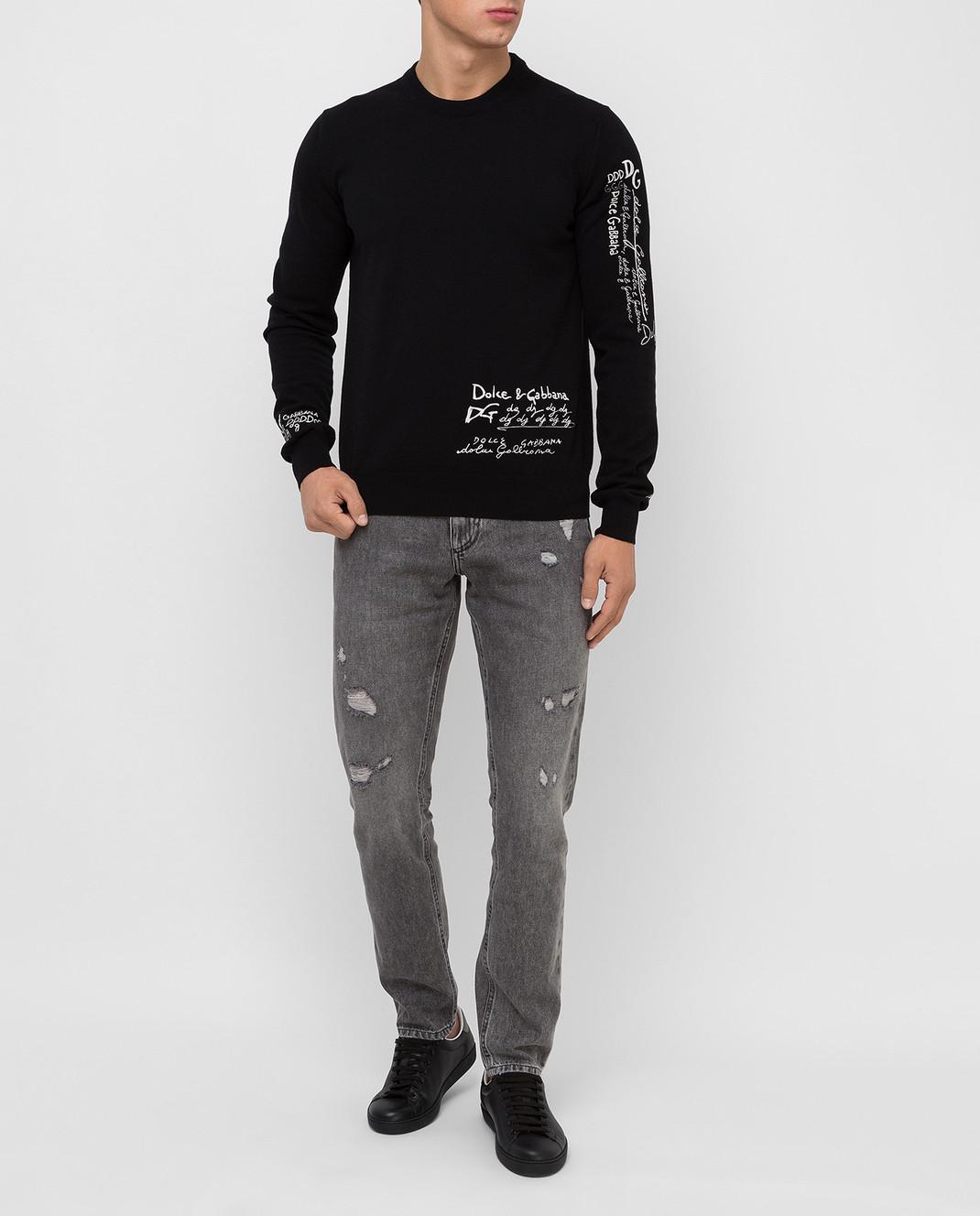 Dolce&Gabbana Серые джинсы изображение 2
