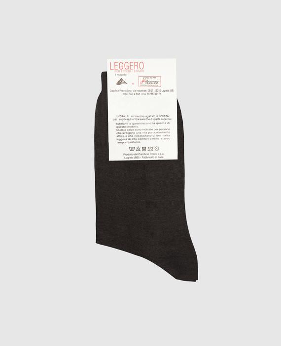 Темно-серые носки hover