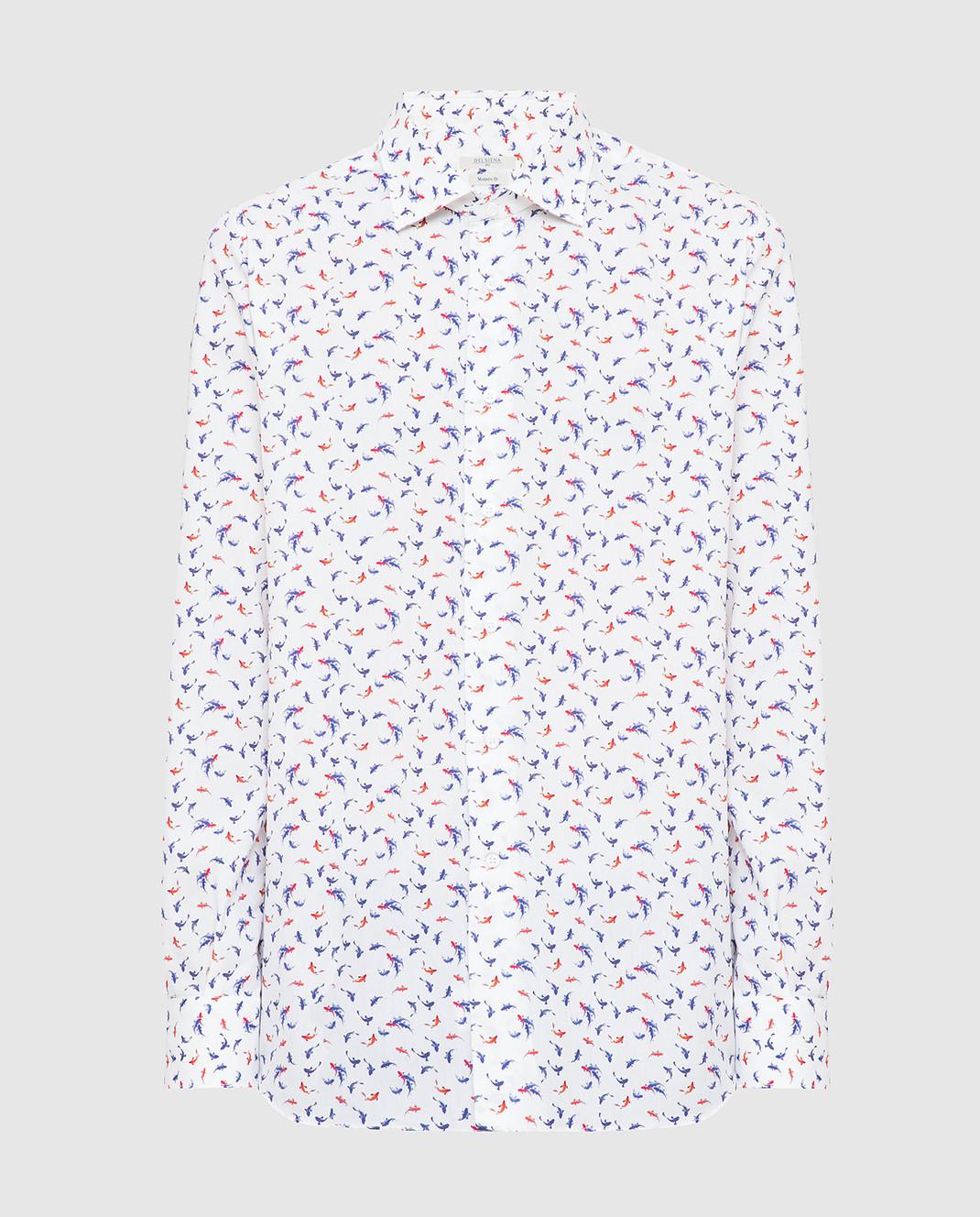 Delsiena Белая рубашка изображение 1