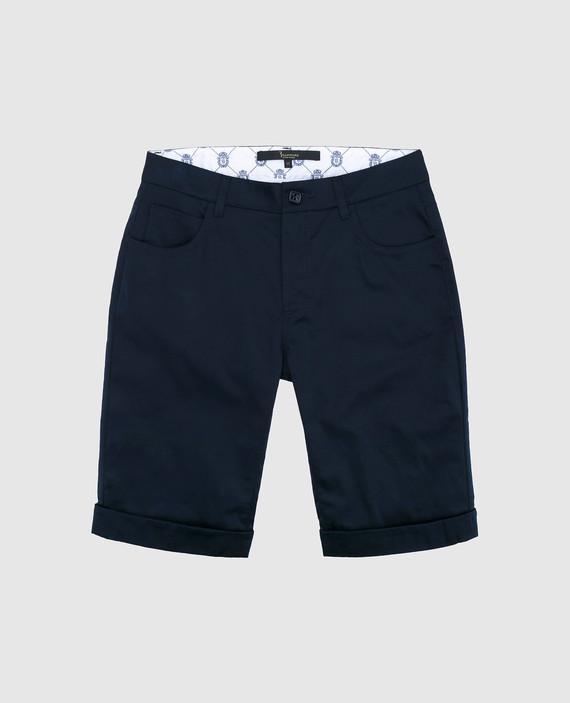 Детские темно-синие шорты
