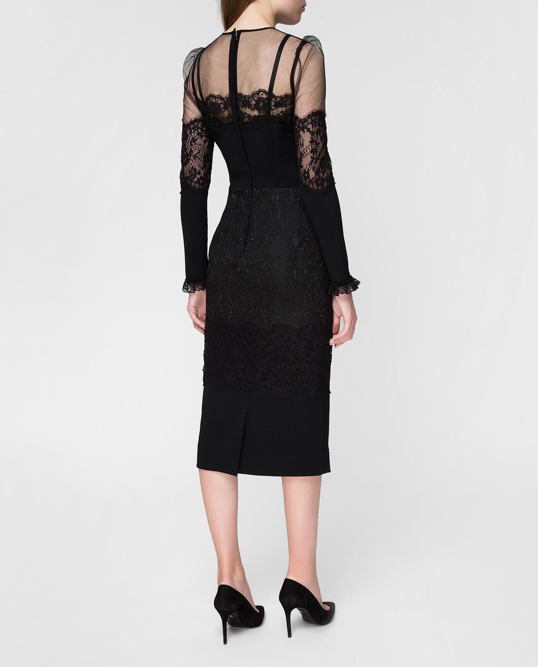 Dolce&Gabbana Черное платье изображение 4