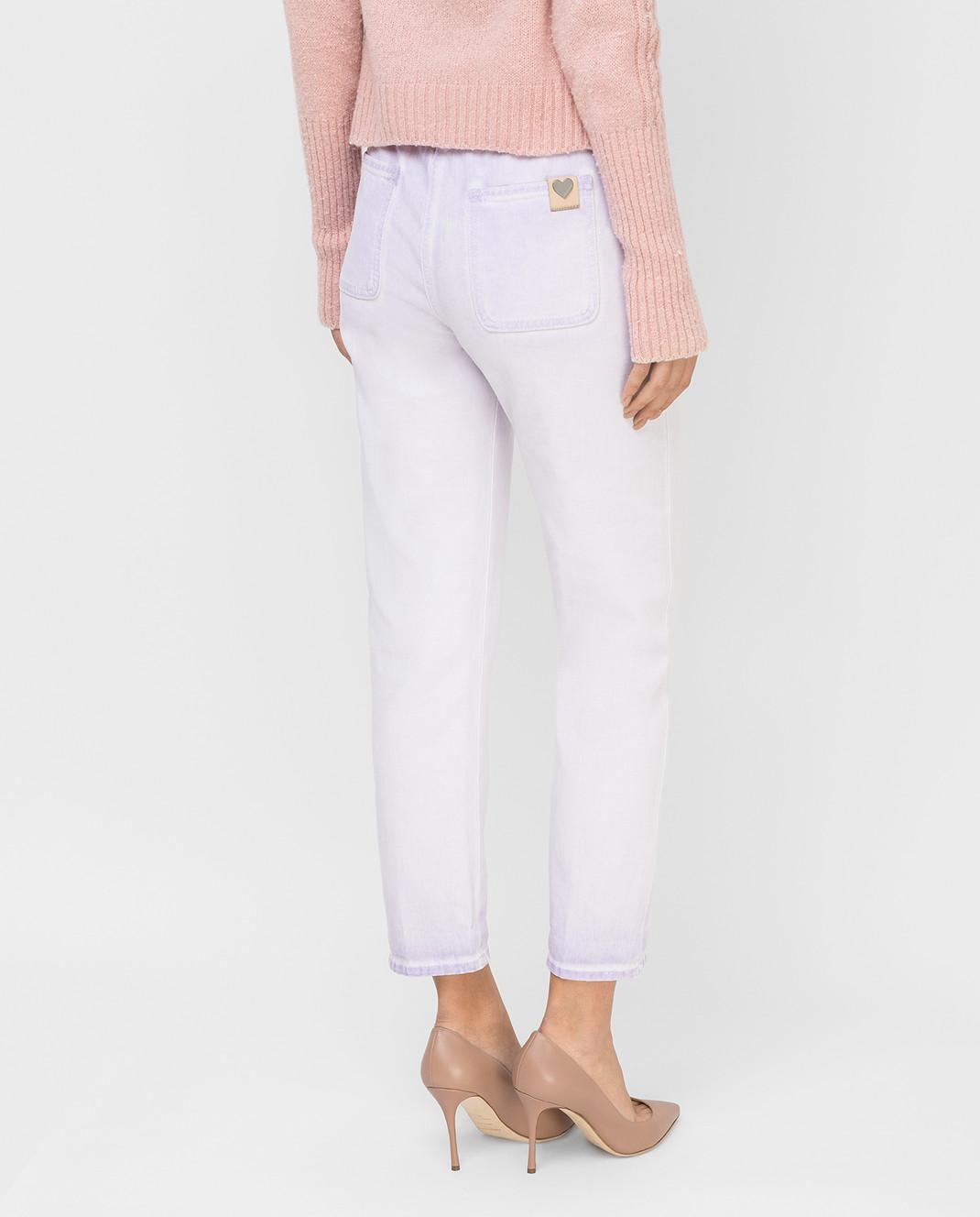 Twin Set Сиреневые джинсы PS72SU изображение 4