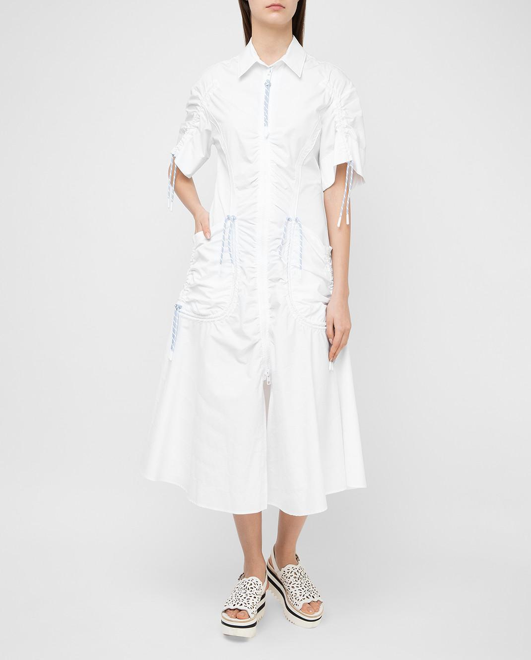 Max Mara Sportmax Белое платье  ELMI изображение 2