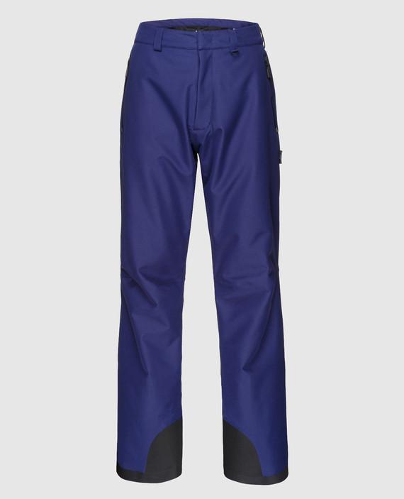 Синие лыжные брюки
