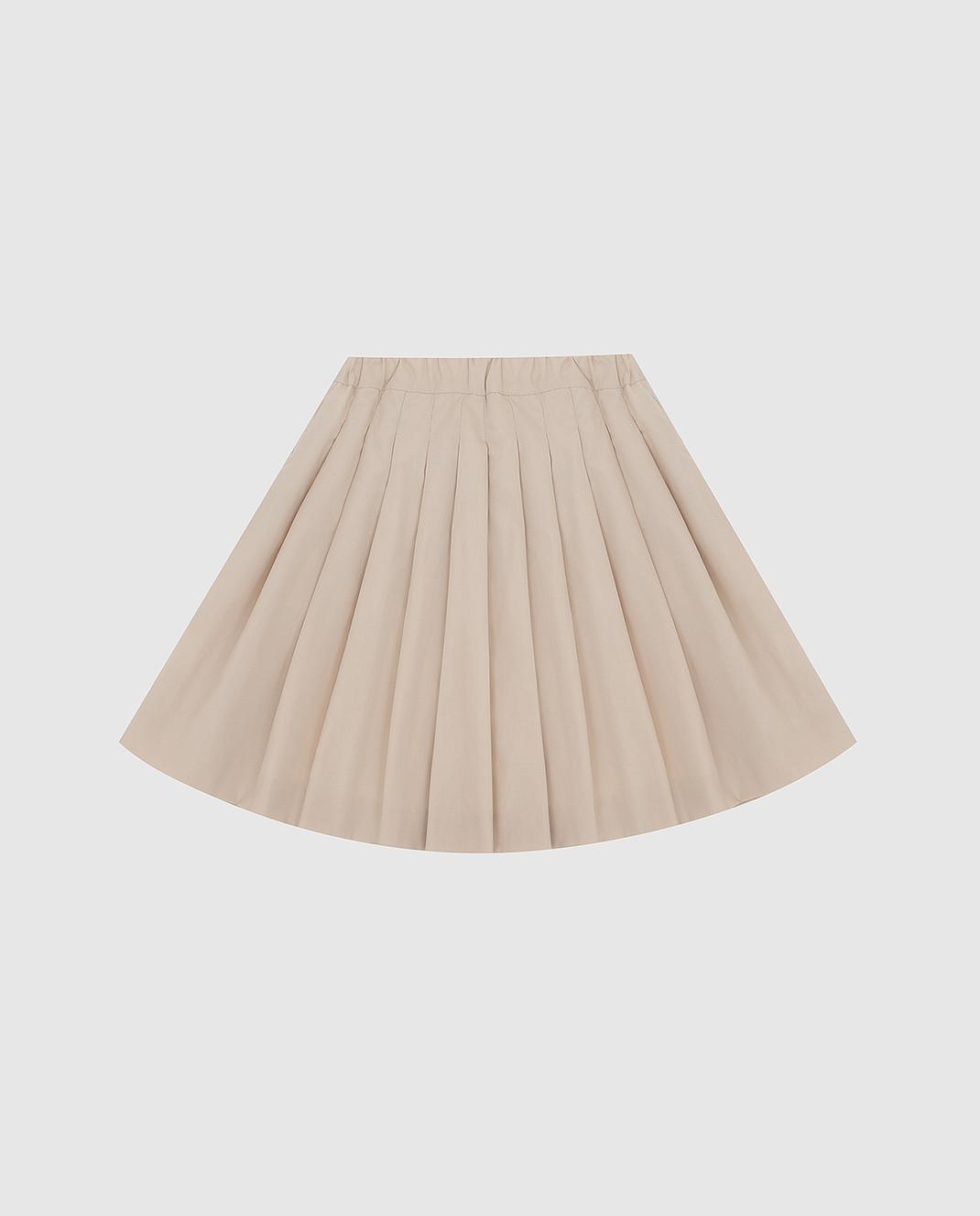 CAF Детская светло-бежевая юбка 101PO58