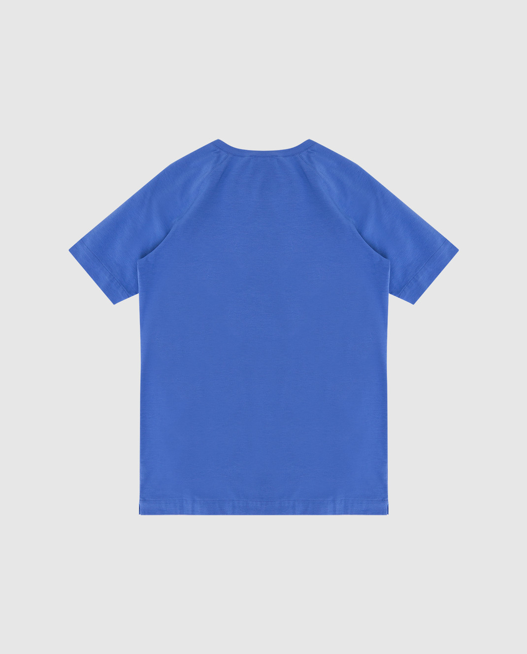 Loro Piana Детская синяя футболка F2FAI0800 изображение 2