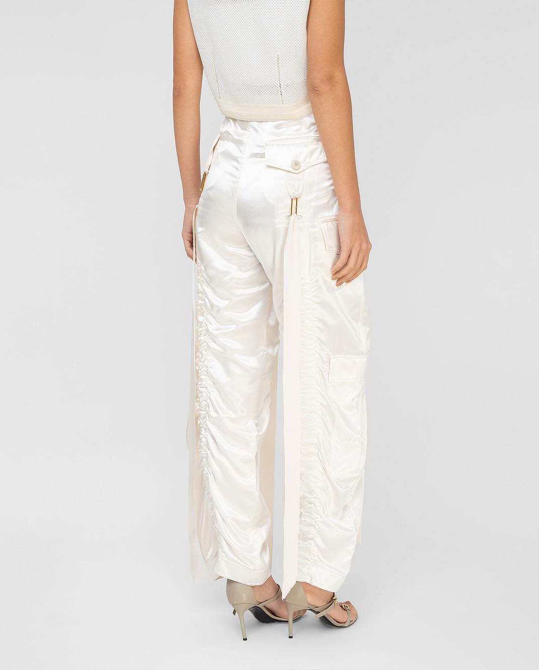 Balenciaga Светло-бежевые брюки изображение 4