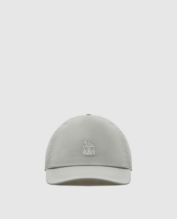 Серая кепка