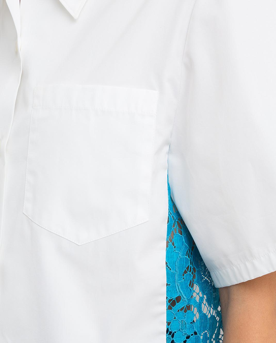 Prada Белая рубашка P461AU изображение 5