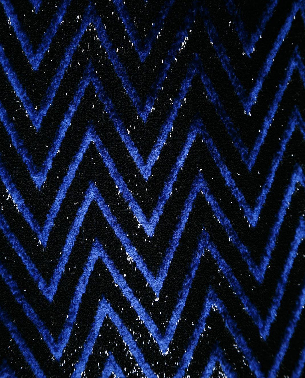 Balmain Синее платье с блестками 143140 изображение 5