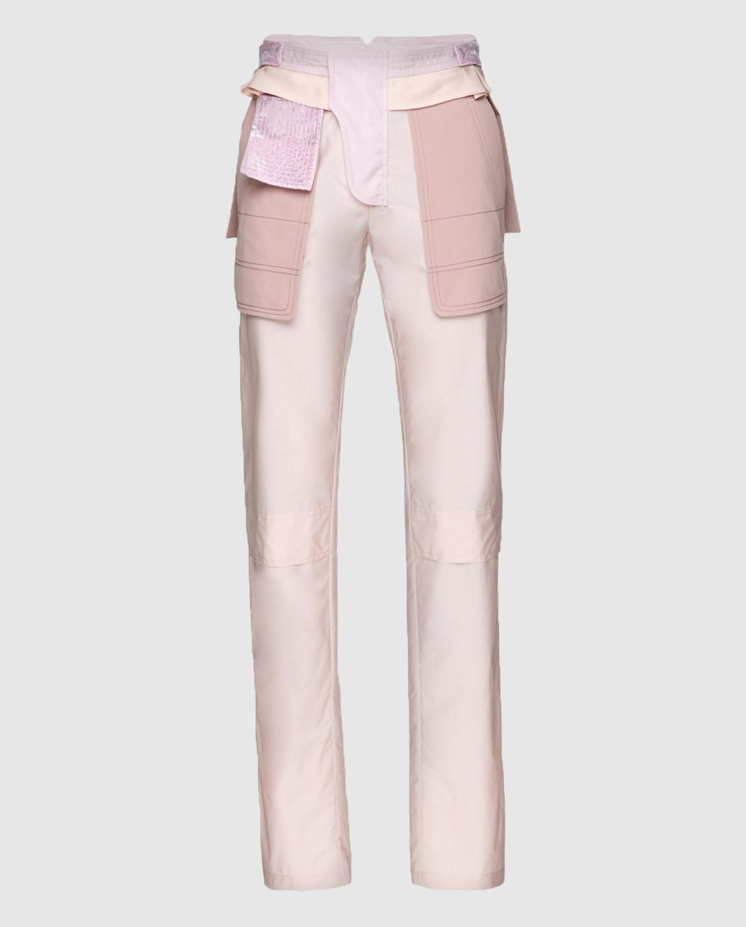 Valentino Бежевые брюки PBARB2853VG