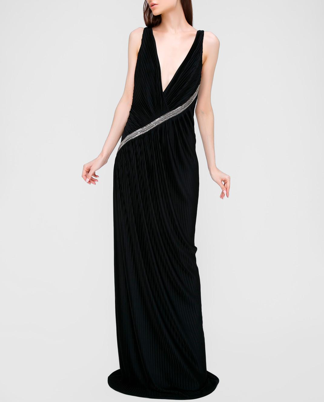 Roberto Cavalli Черное платье изображение 2