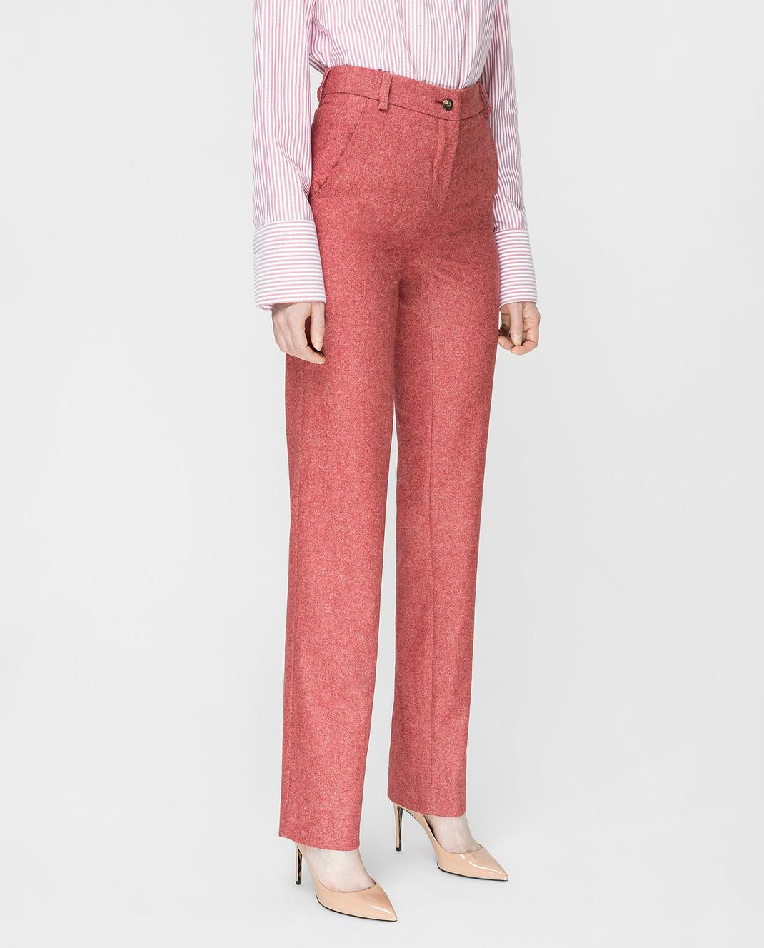 Stile Latino Бордовые брюки PDMARIELLA2EWU01 изображение 3