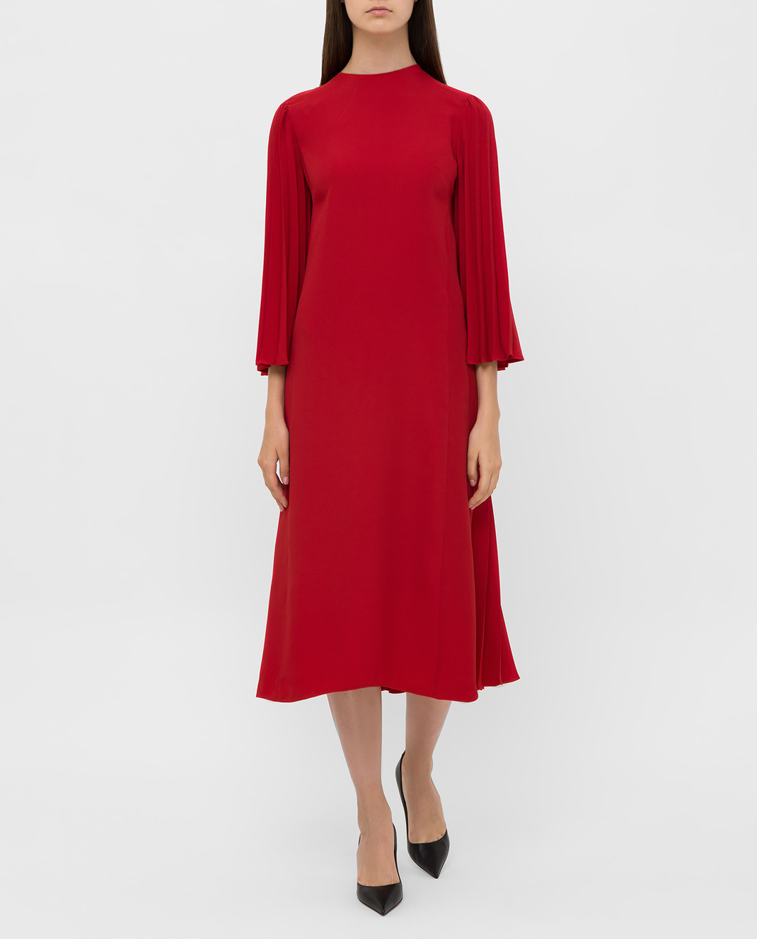 Valentino Красное платье SB3VAN104NK изображение 2