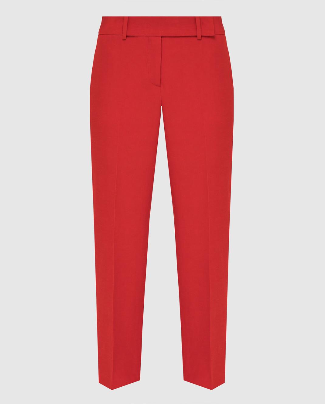 Ermanno Scervino Красные брюки D366P300DIE
