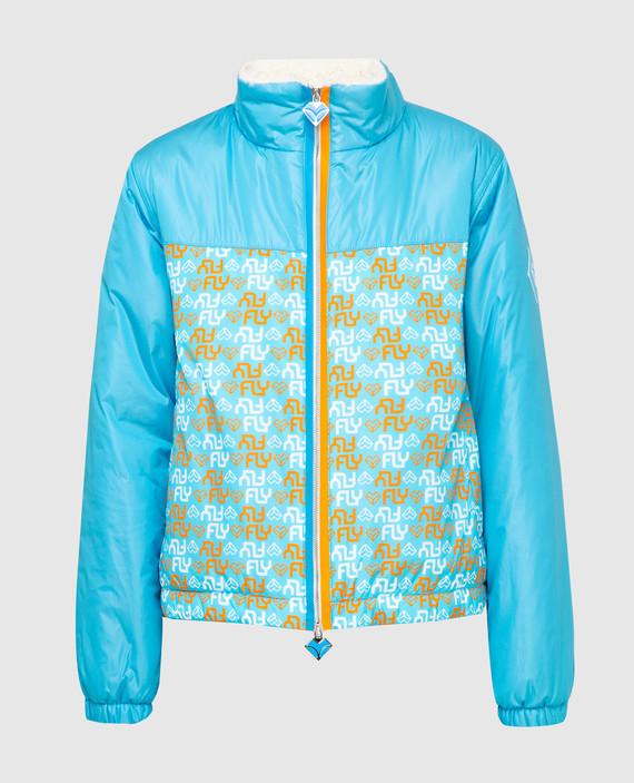 Голубая куртка