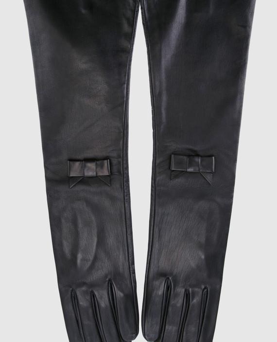 Черные перчатки hover