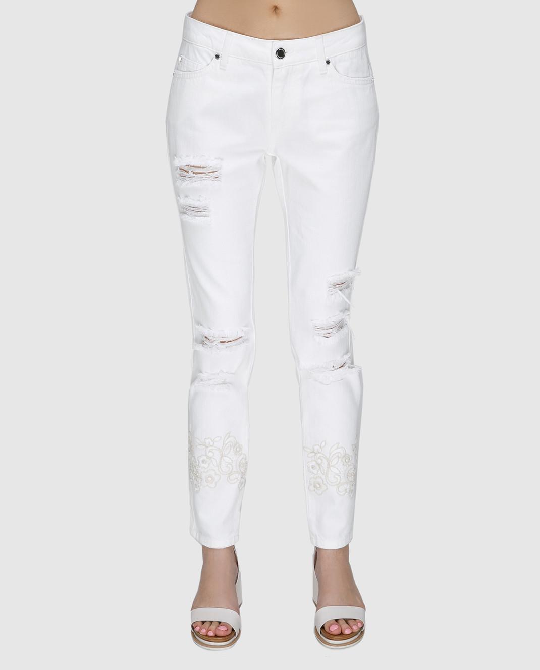 Ermanno Белые джинсы JL09 изображение 3