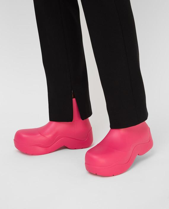 Розовые ботинки hover