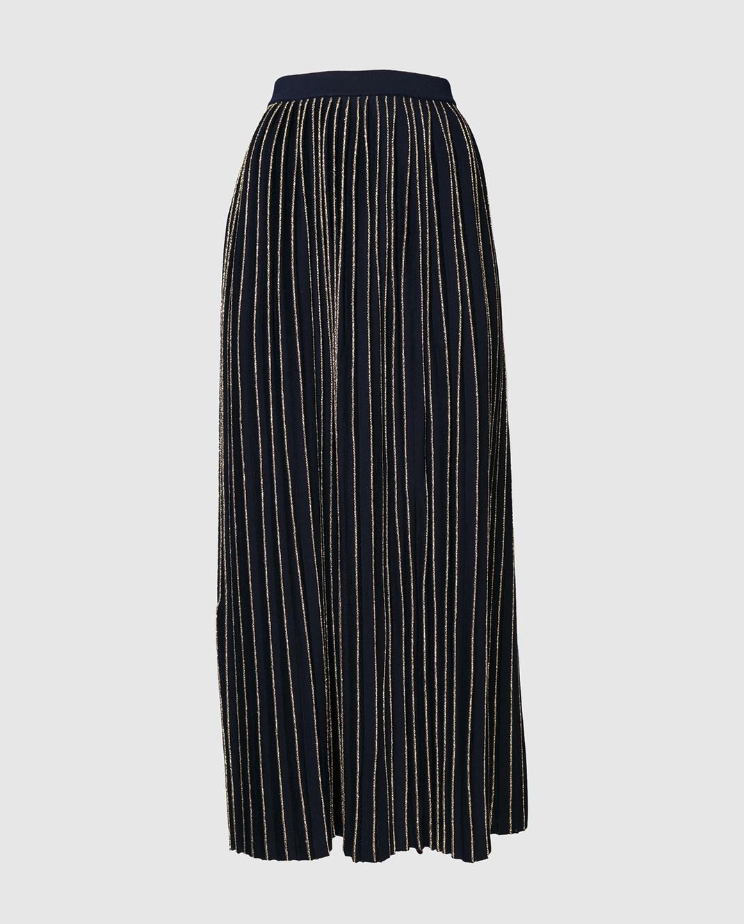 Gucci Синяя юбка-плиссе 490353 изображение 2
