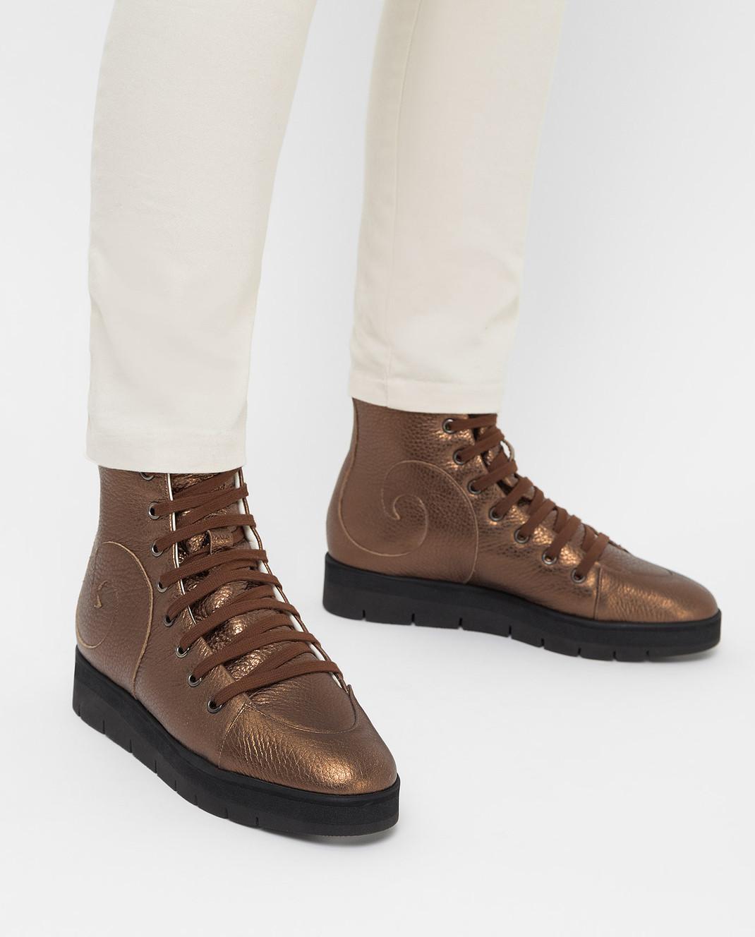 Steiger Бежевые ботинки 1384A изображение 2