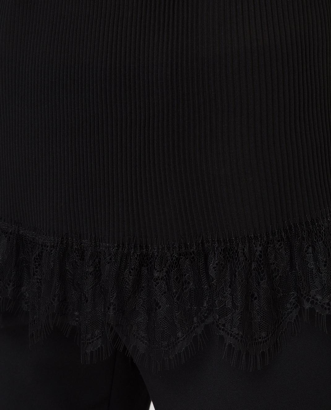 Pinko Черный топ 1B11HB изображение 5
