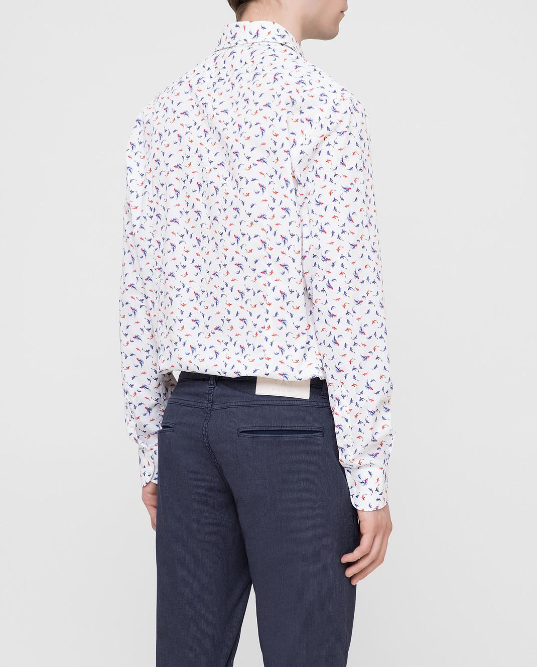 Delsiena Белая рубашка изображение 4