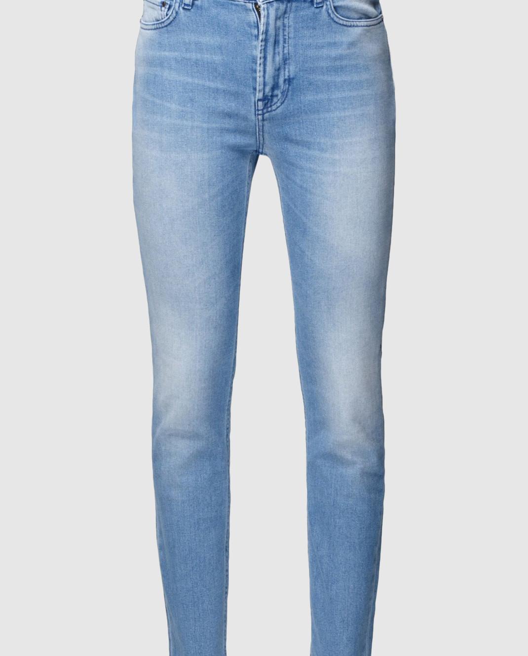Mr&Mrs Italy Голубые джинсы JE040