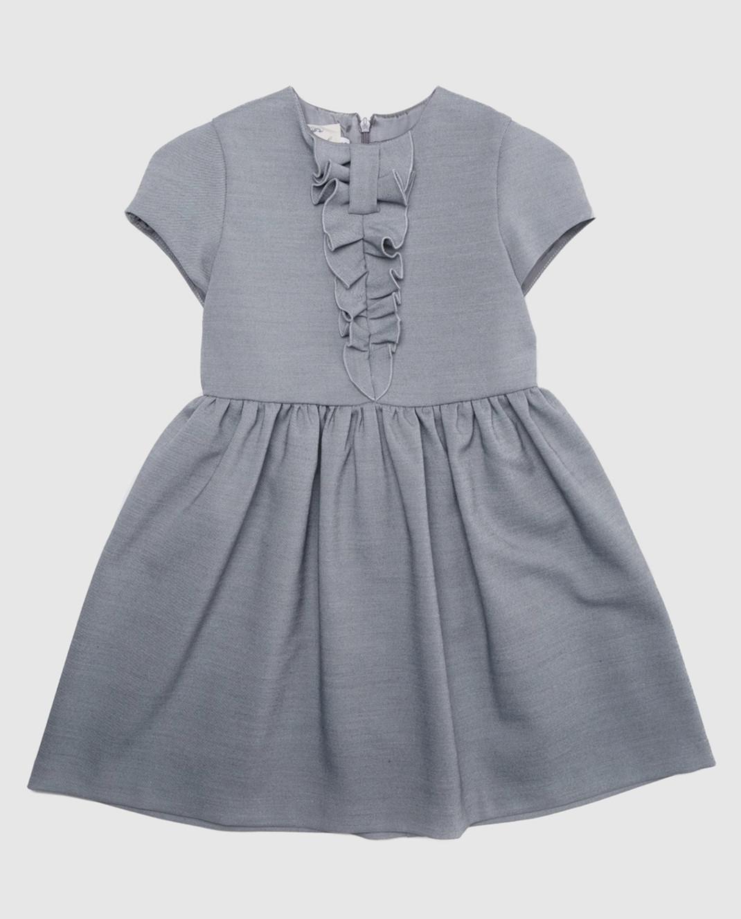 CAF Детское серое платье изображение 1
