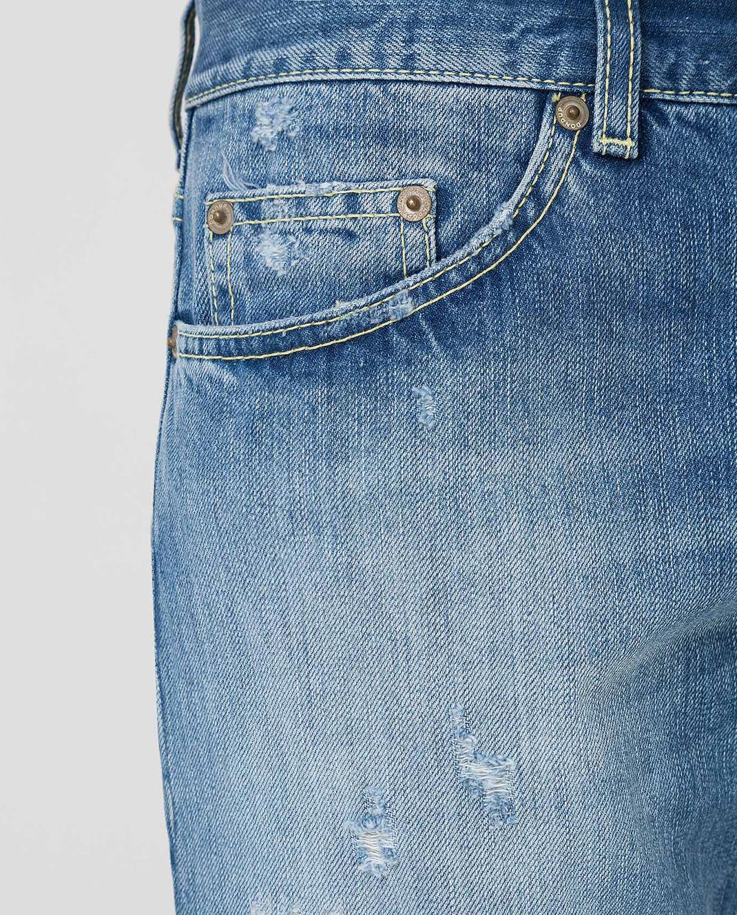 Dondup Голубые джинсы P611 изображение 5