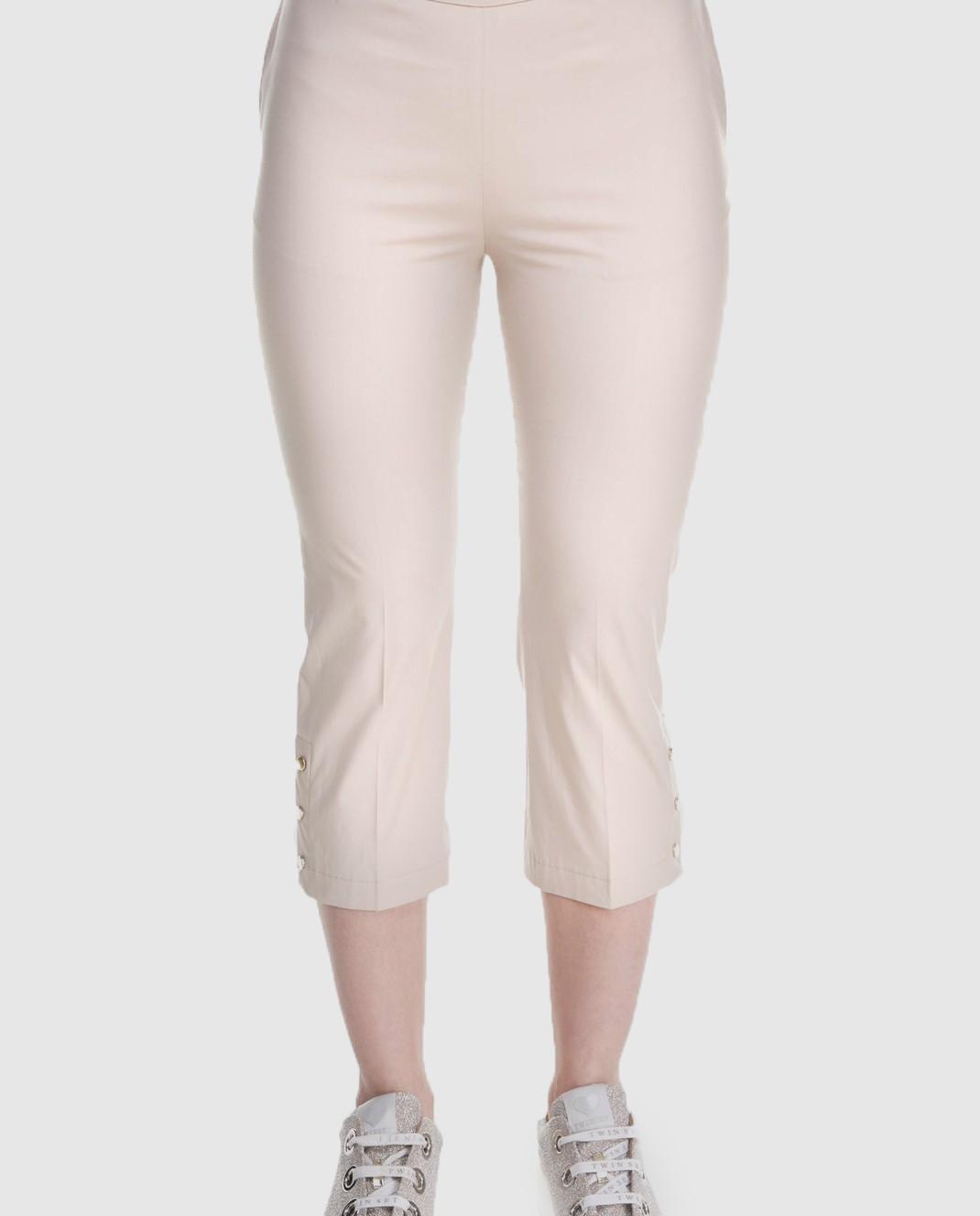 Twin Set Бежевые брюки изображение 3
