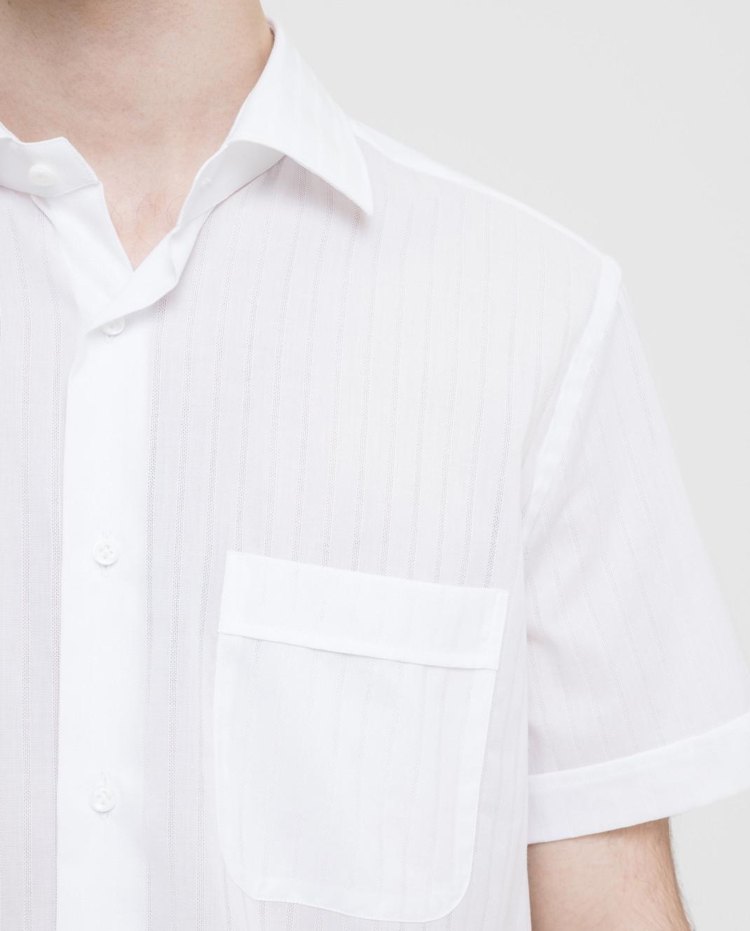 Carrel Белая рубашка изображение 5