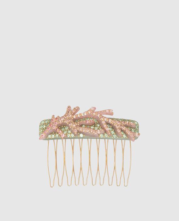 Гребень для волос с кристаллами Swarovski