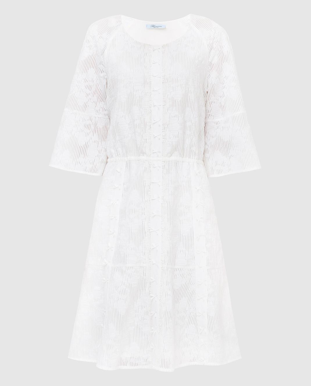 Blumarine Белое платье 6454