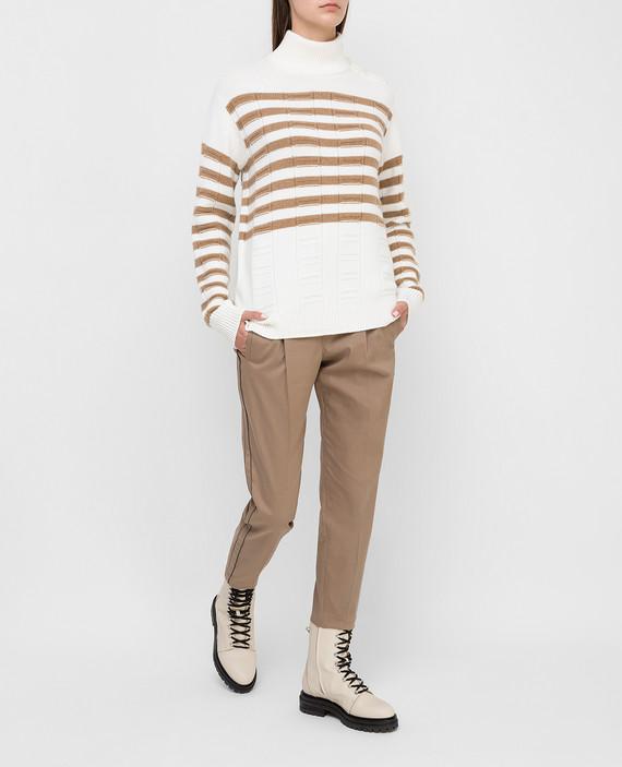 Белый свитер из кашемира hover