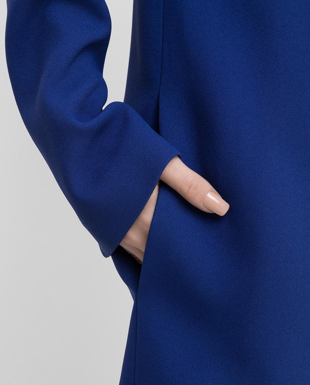 Victoria Beckham Синее платье 517 изображение 5