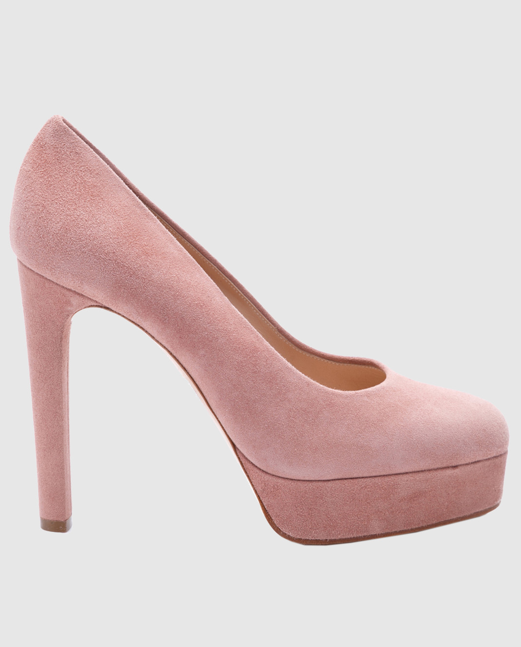Casadei Пудровые замшевые туфли изображение 1