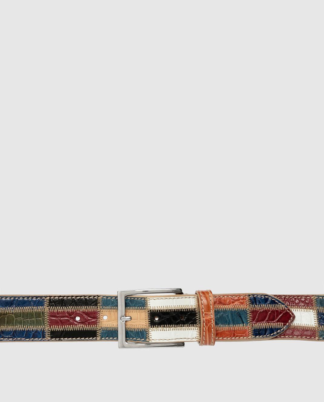 Bochicchio Кожаный ремень BELTPATCHWORK изображение 4