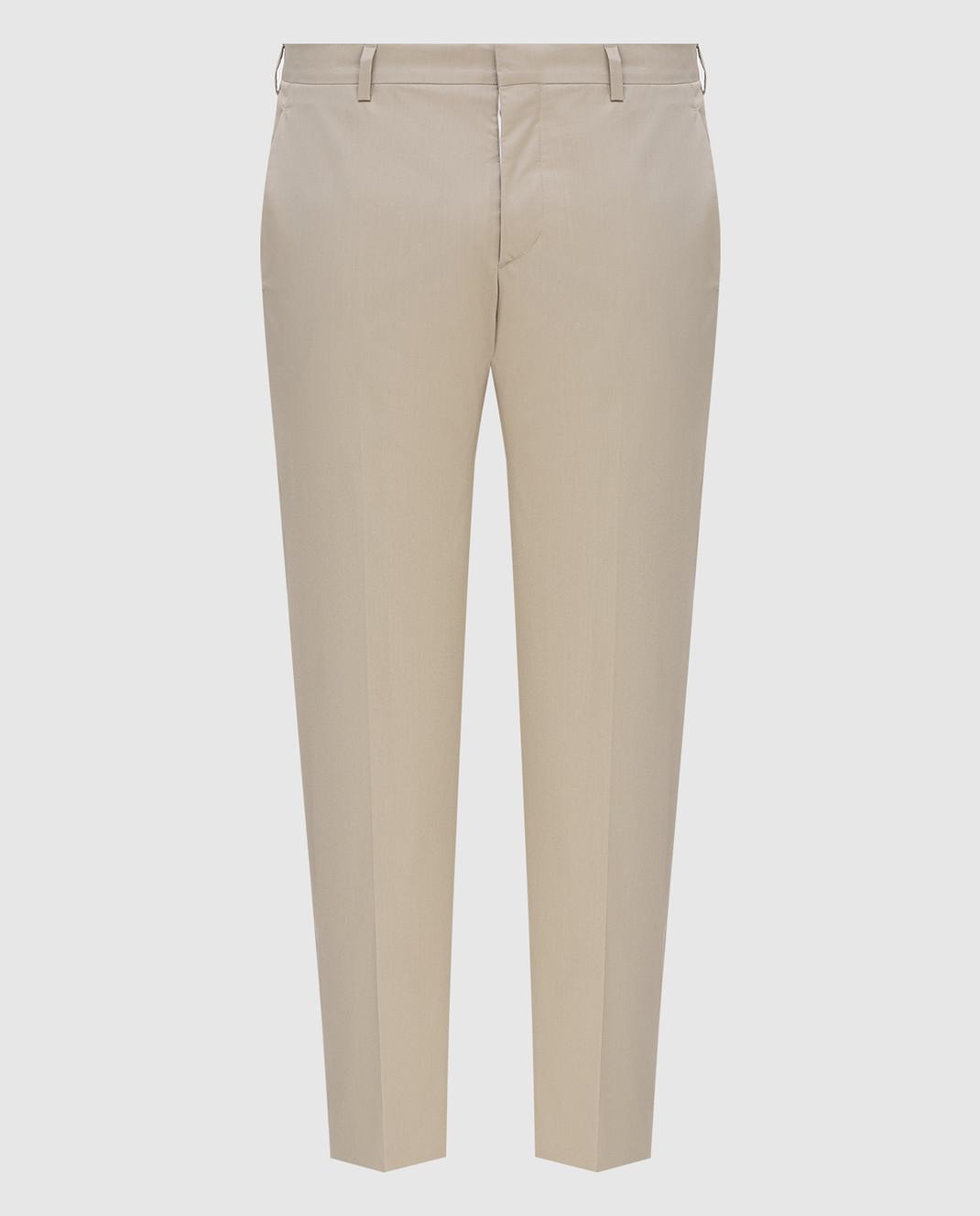 Prada Серые брюки UPA8411VSD