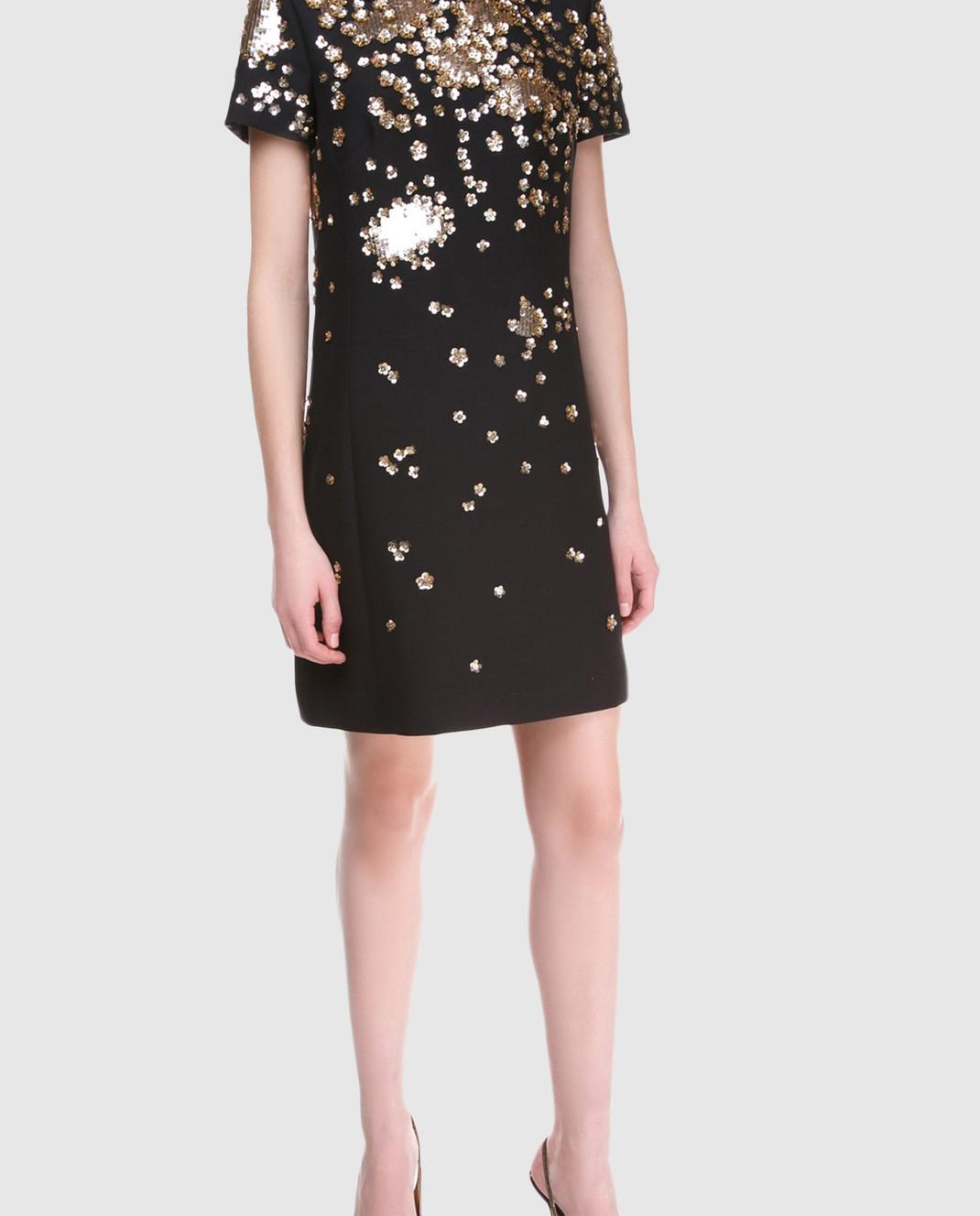 Valentino Черное  платье PB3VAD141CF изображение 2