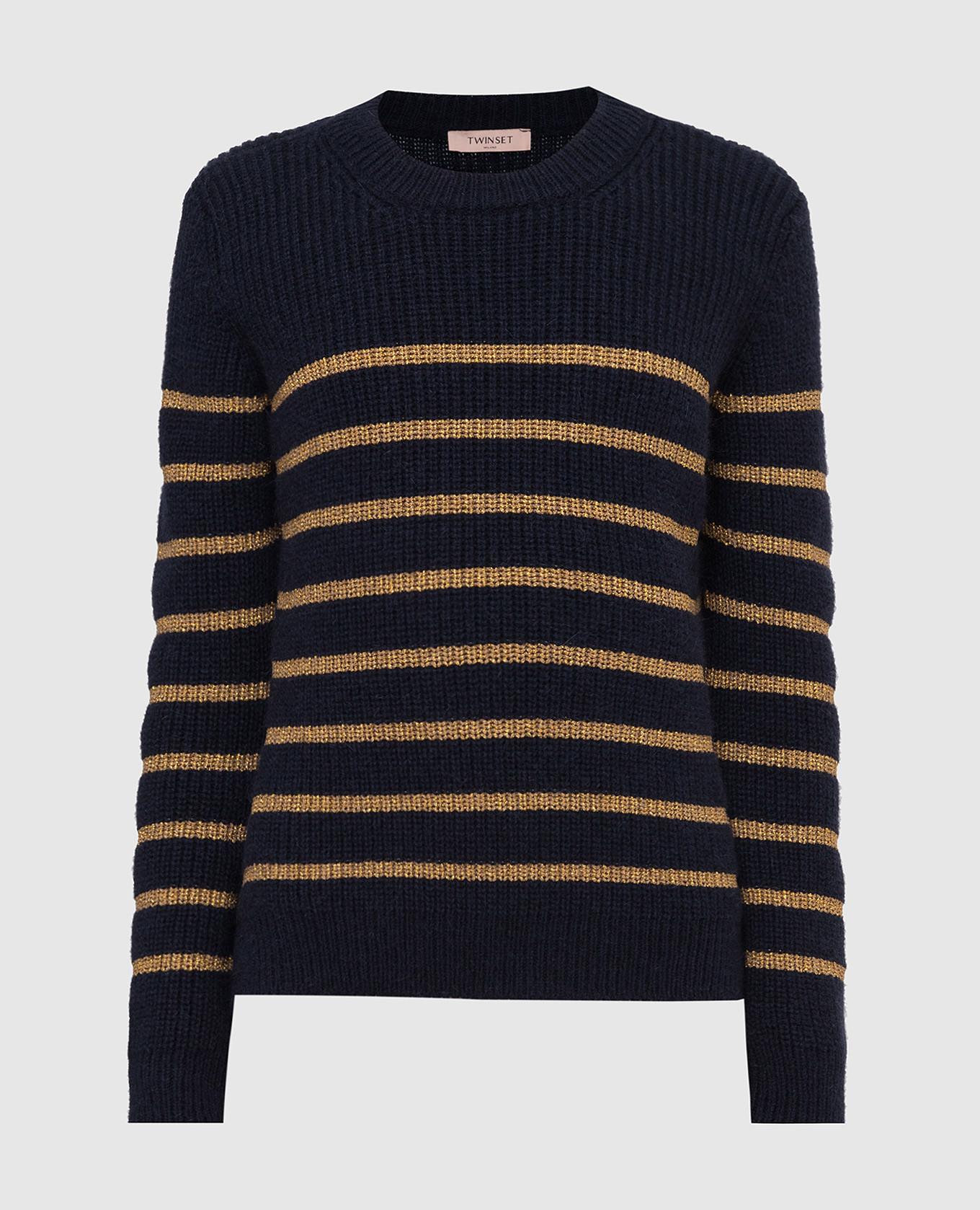 Темно-синий свитер