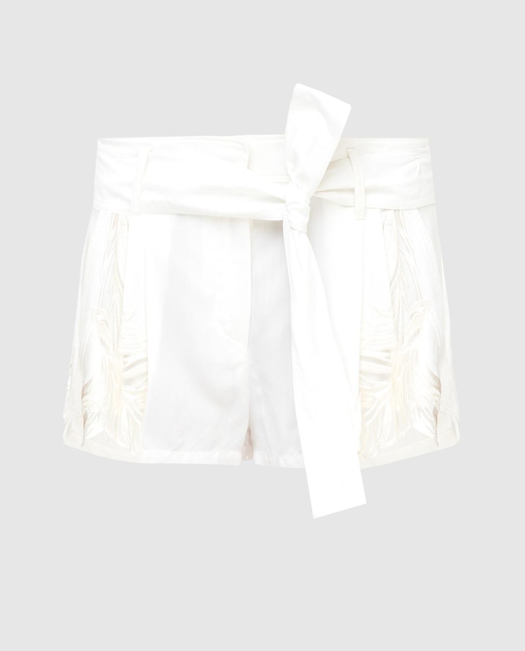 Roberto Cavalli Белые шорты CQR232